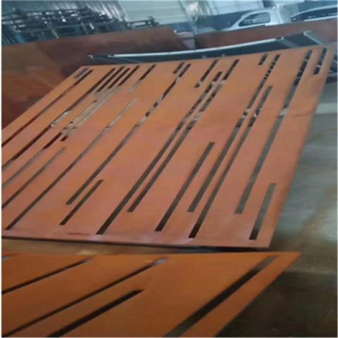 红锈钢板加工切割,锈蚀钢板现货厂家