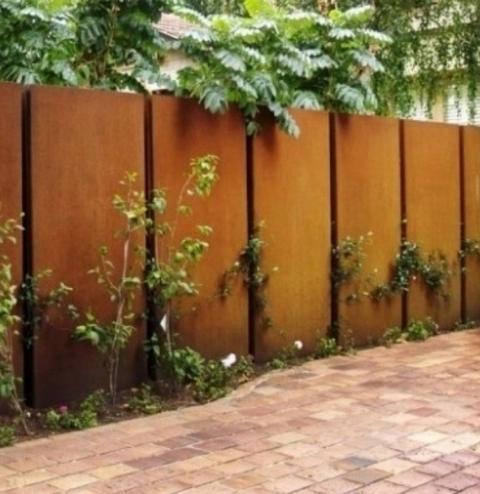 外墙红色耐候钢板
